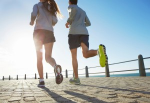 Cardio and Resistance Training Running
