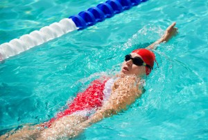 Improving Your Swimming Strokes- Backstroke Lady