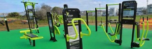 Outdoor Gyms Bright Equipment