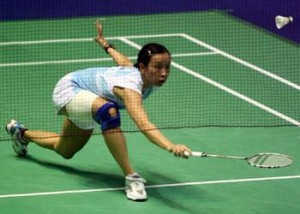 Playing Badminton for Fitness Joint Strain