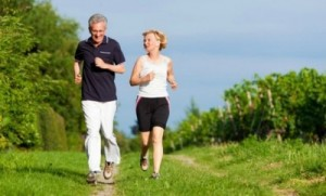 The Weekend Warrior Lifestyle Couple Running