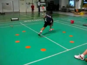 Train Like a Professional Badminton Player Footwork