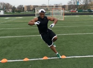 Train Like an American Football Player Cone Drills