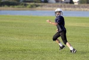 Train Like an American Football Player Running