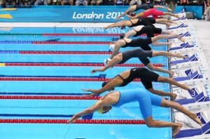 Training Like You're an Olympic Swimmer London 2012