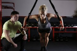 becoming a personal trainer gym
