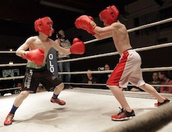Boxing for Kids in the ring