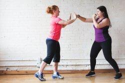 Boxing Workout Drills Partner Work