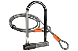 Choose the Right Lock for Your Bicycle U with Cable