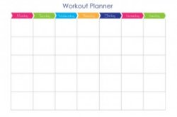 couch to 5k workout planner