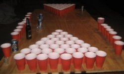darts game or sport beer pong