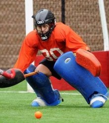 essential kit for field hockey goalies leg protection