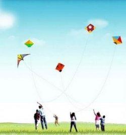 fly a kite family