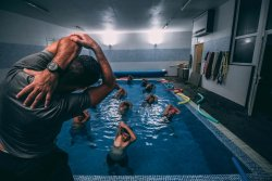 hiit pool workout class