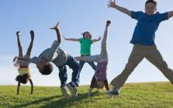 kids ipads to exercise outdoors