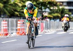 Paralympic Cycling Kyle Bridgewood