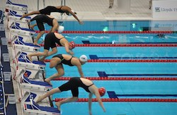 Paralympic Swimming Starting Blocks