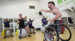 Physical Exercise for the Disabled Class