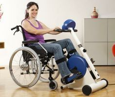 Physical Exercise for the Disabled Wheelchair