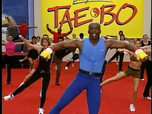 Billy Blanks Tae Bo workout
