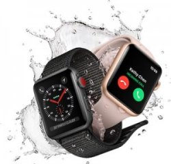 technology in the pool apple watch