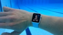 technology in the pool watch underwater